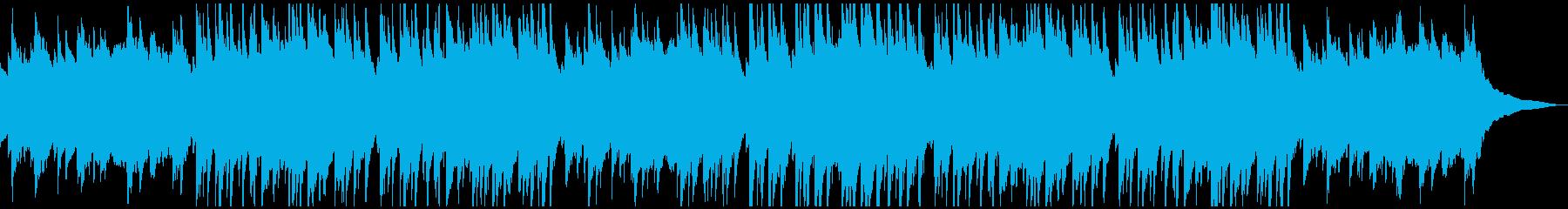 ゆったりしたピアノと鉄琴の曲です。の再生済みの波形