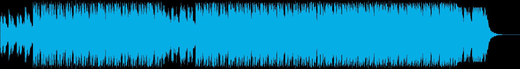 ネオソウル、ヒップホップ、チルアウトの再生済みの波形