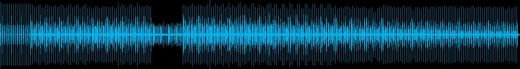 ダンスエレクトロ。古いスタイル。の再生済みの波形
