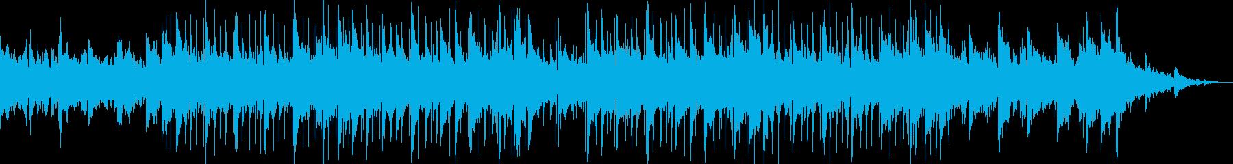 リラックス・アンビエント・ロックの再生済みの波形