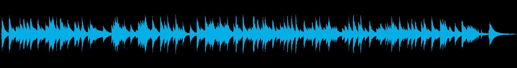 ゆっくり静かなジャズラウンジピアノソロの再生済みの波形