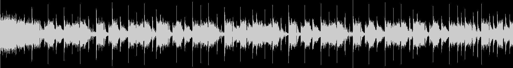ハジケルスプラッシュハウス【ループ可能】の未再生の波形