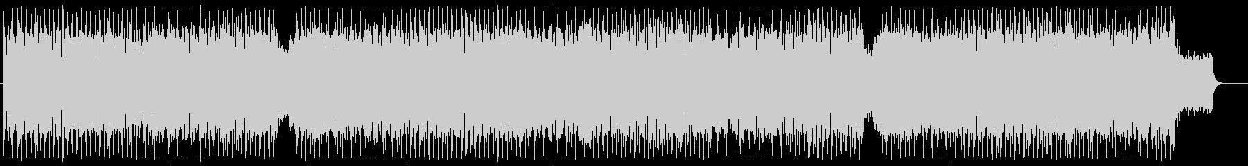 テクノロジー エレクトロ ブリーフィングの未再生の波形