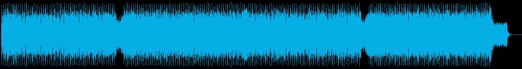テクノロジー エレクトロ ブリーフィングの再生済みの波形
