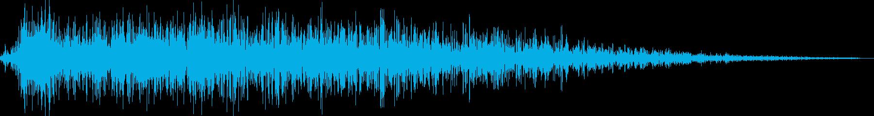 ロボット足音 タイプ15の再生済みの波形