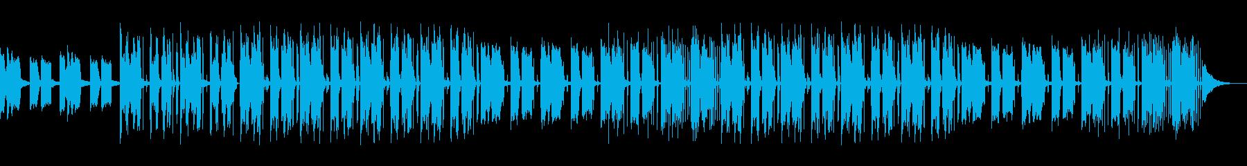 おしゃれで落ち着いたインテリアの紹介映像の再生済みの波形