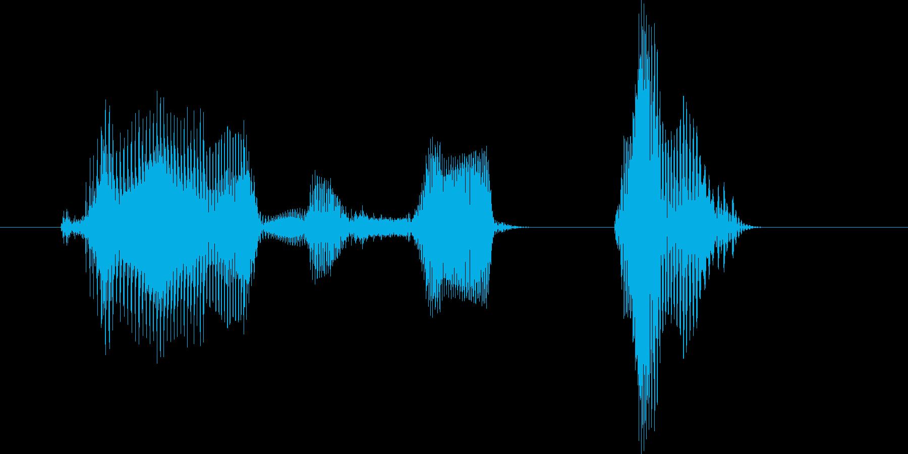 ゲームセット(男の子)の再生済みの波形