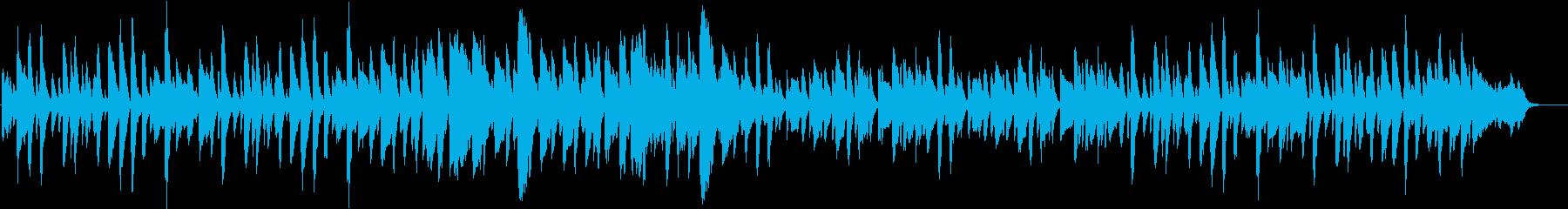 滑らか ジャズ くつろぐ 楽しい ピアノの再生済みの波形
