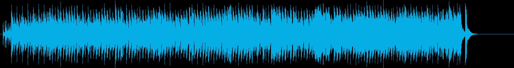 暖かな午後の日差しの歌謡曲風ポップスの再生済みの波形