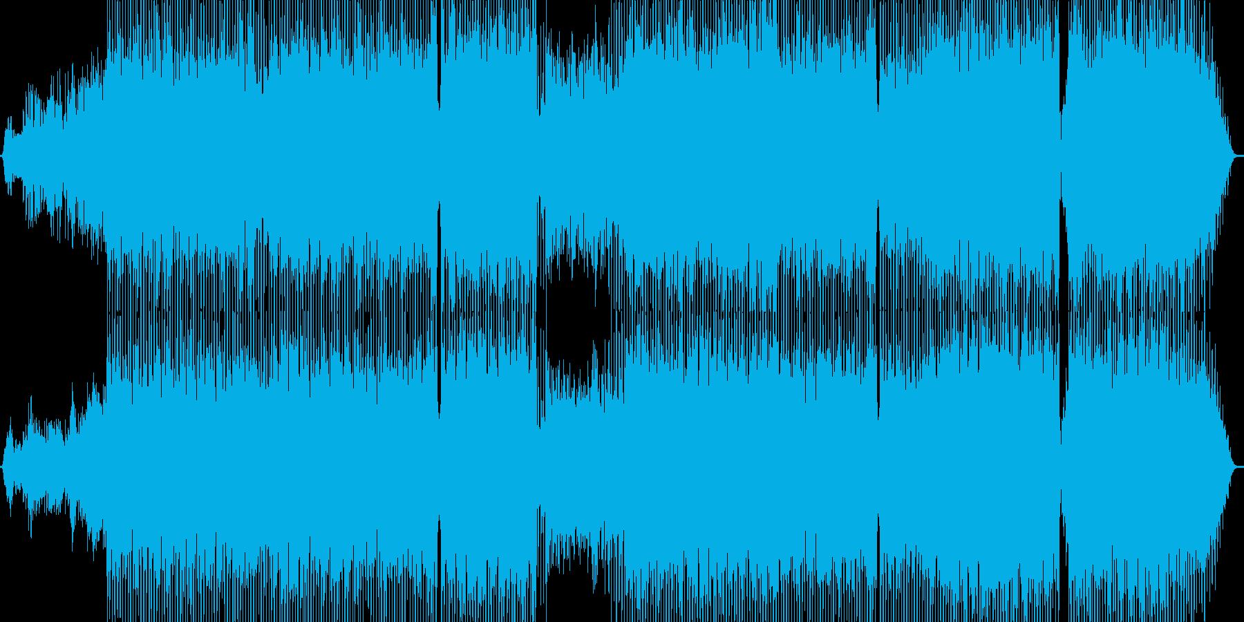 マイナー系のミドルテンポのロック調JP…の再生済みの波形