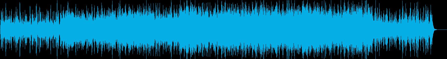 優雅で複雑なクラシカルの再生済みの波形