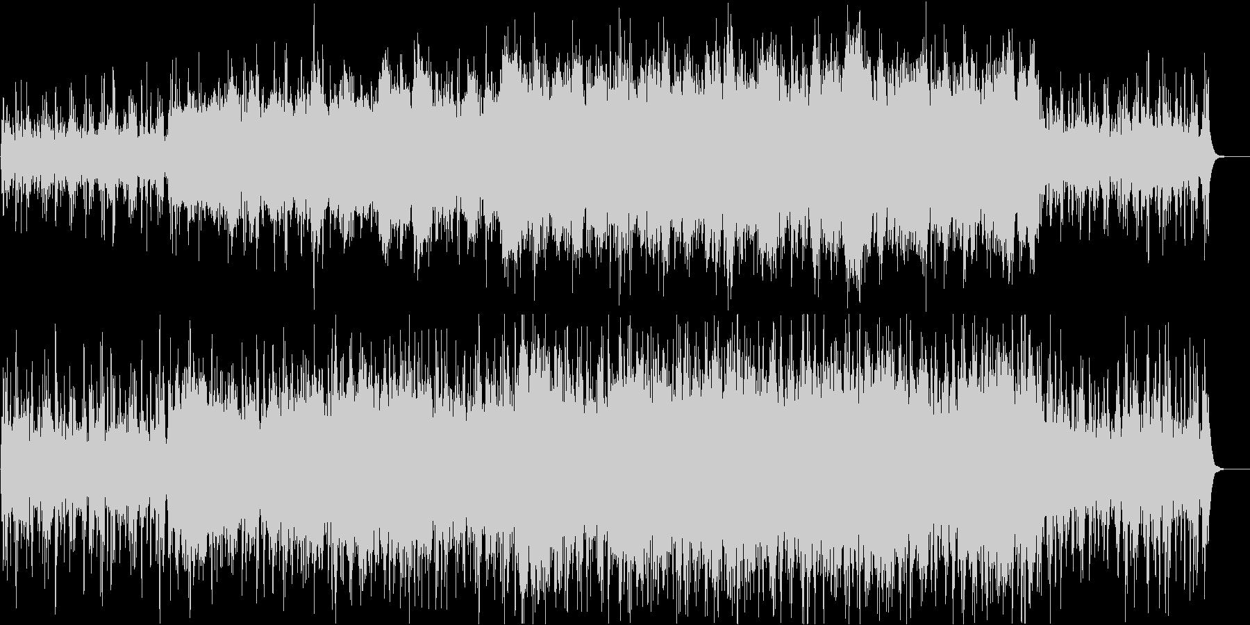 優雅で複雑なクラシカルの未再生の波形