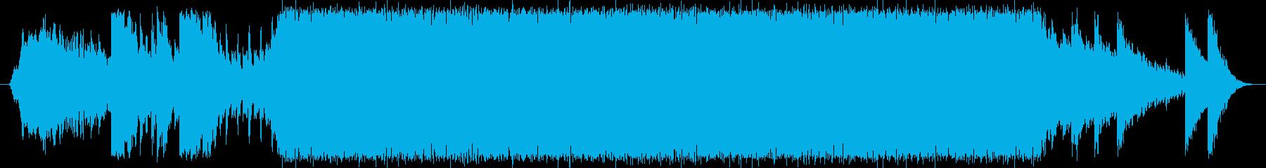 壮大な自然を連想させる企業CM用音楽の再生済みの波形