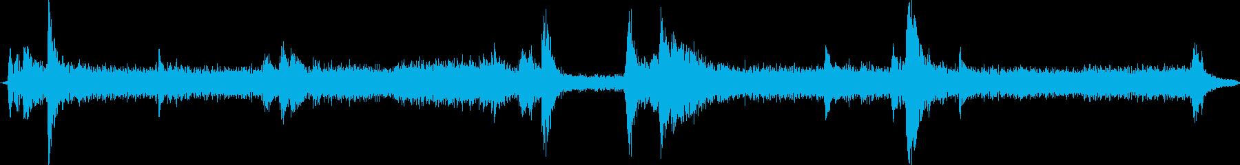 X線装置1;小型の小型X線装置、中...の再生済みの波形