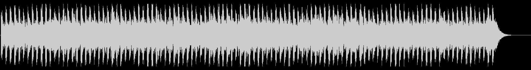 謎を解いているときに流れるBGMの未再生の波形