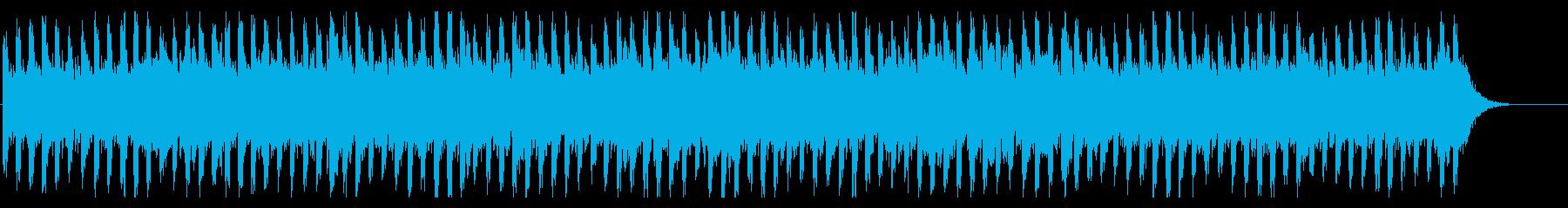 謎を解いているときに流れるBGMの再生済みの波形