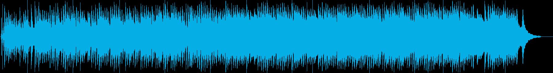【癒し】ピアノと水音のエレクトロニカの再生済みの波形