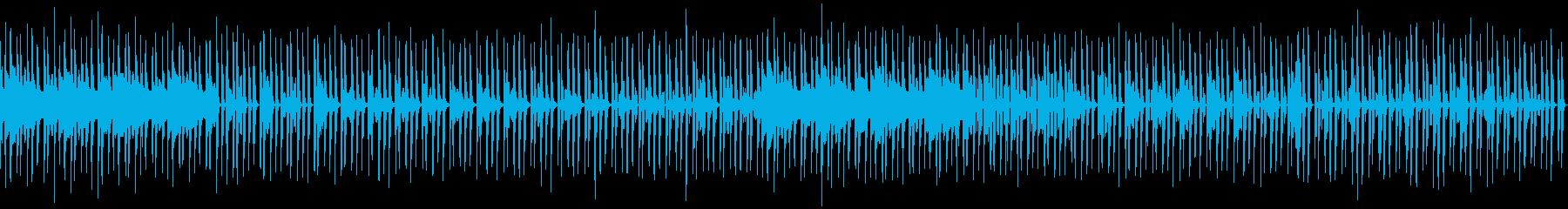 のんびりした雰囲気 トークのBGMにの再生済みの波形