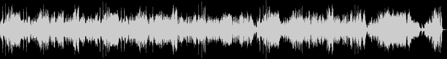 月光3楽章(ピアノソロ)の未再生の波形