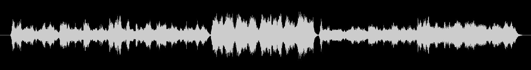 中国の片田舎で流れていそうなゆったり曲の未再生の波形