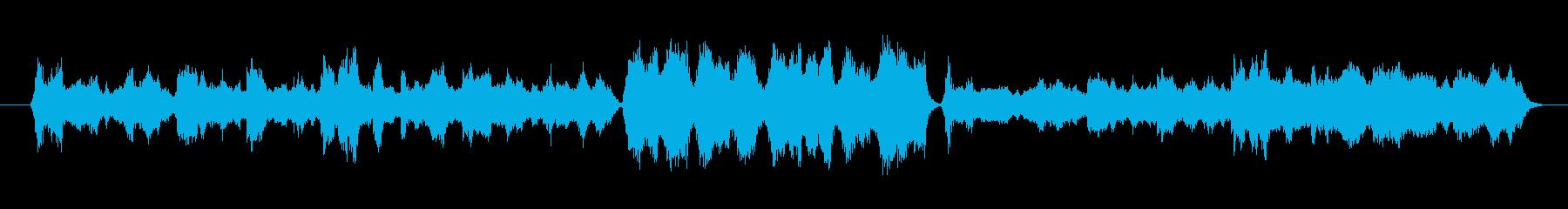 中国の片田舎で流れていそうなゆったり曲の再生済みの波形