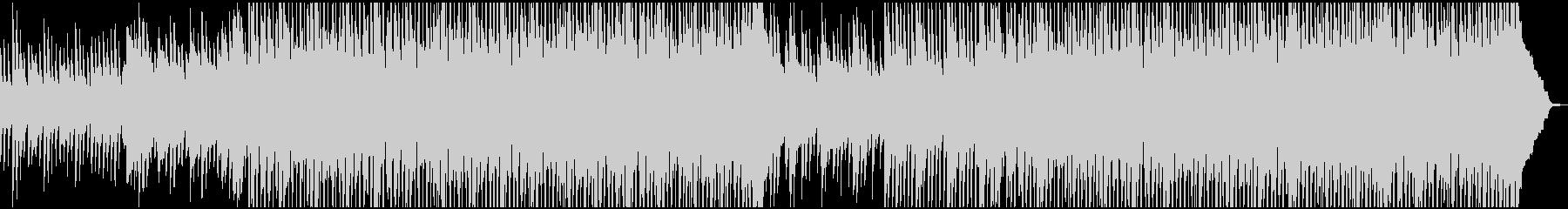 カントリーでハッピーな曲の未再生の波形