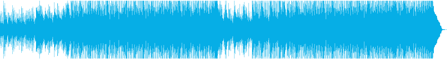 カントリーでハッピーな曲の再生済みの波形