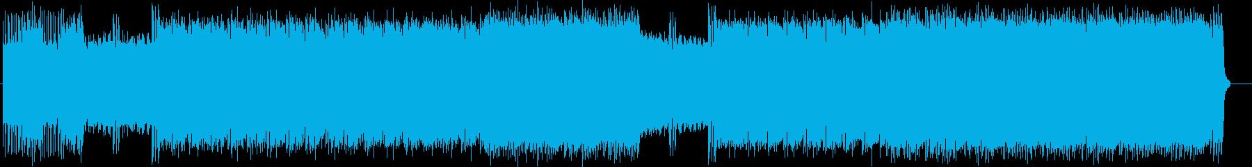 北斗の拳をイメージしたキターインストの再生済みの波形
