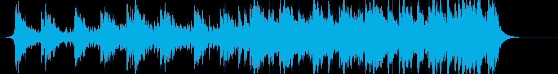 壮大で暗めなシネマティックの再生済みの波形