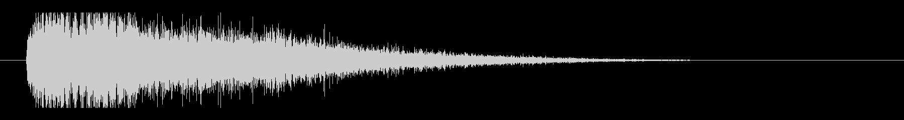 レーザー音-101-3の未再生の波形
