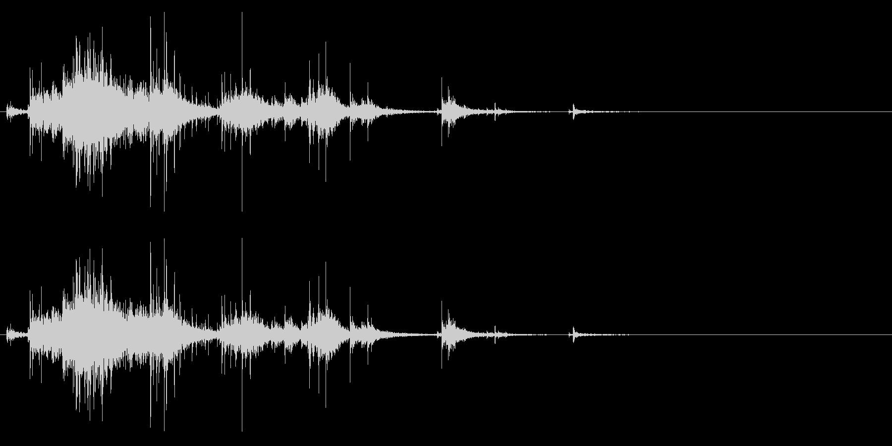 【生録音】お風呂 水の音 13の未再生の波形