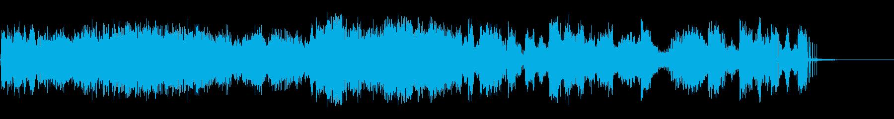 信号破壊の再生済みの波形