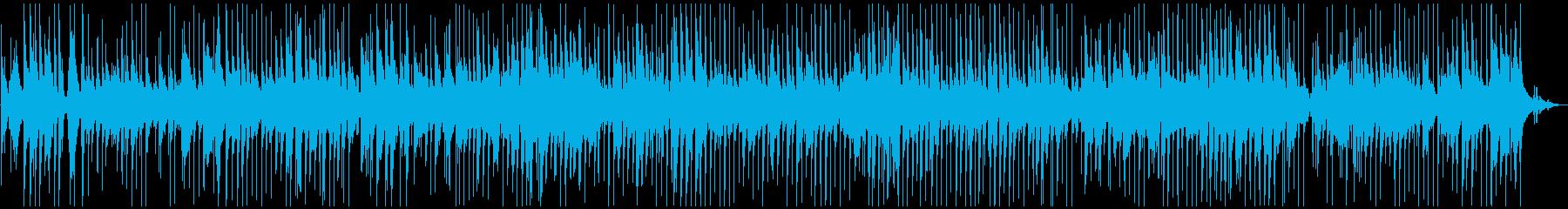 ジャズクラブで流れすようなワルツの再生済みの波形