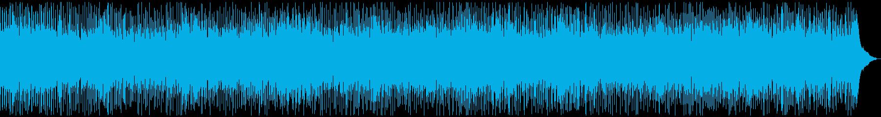 軽快なピアノロックンロールの再生済みの波形