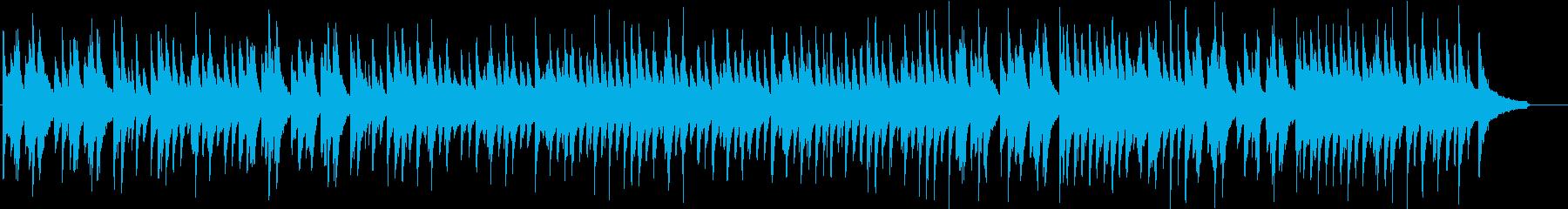 結婚式入場をイメージしたピアノソロBGMの再生済みの波形