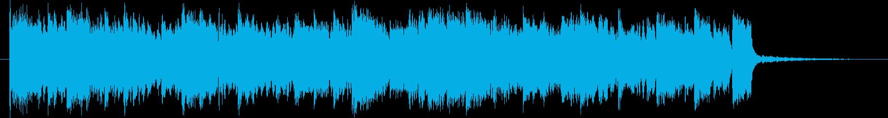 深呼吸したくなるリラックス導入BGMの再生済みの波形