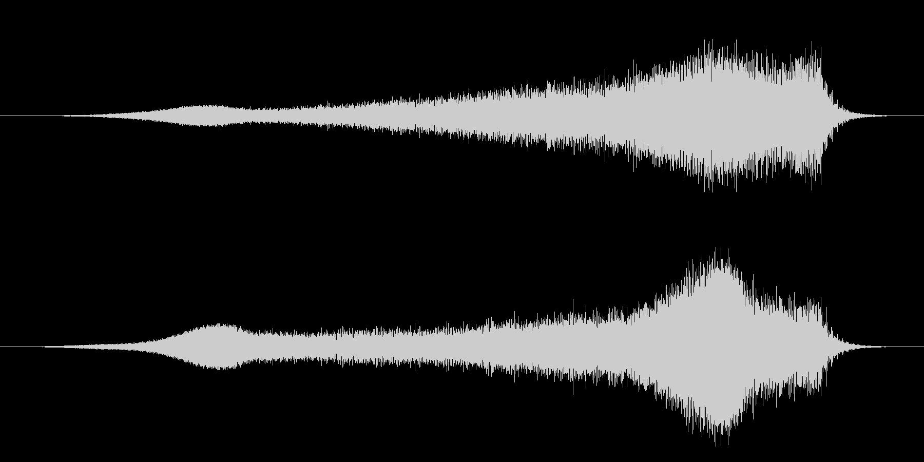 SWELL ノイズシズルロング02の未再生の波形