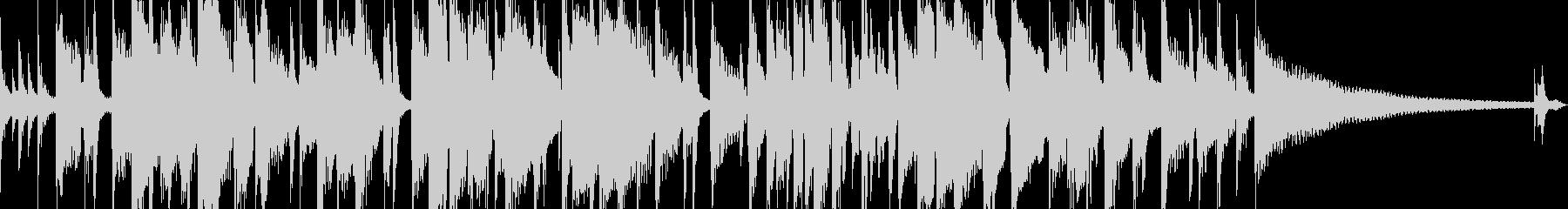 おしゃれなアコギソロの未再生の波形