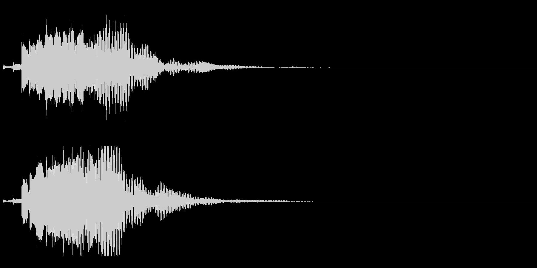 ハープ・下降_3-2の未再生の波形