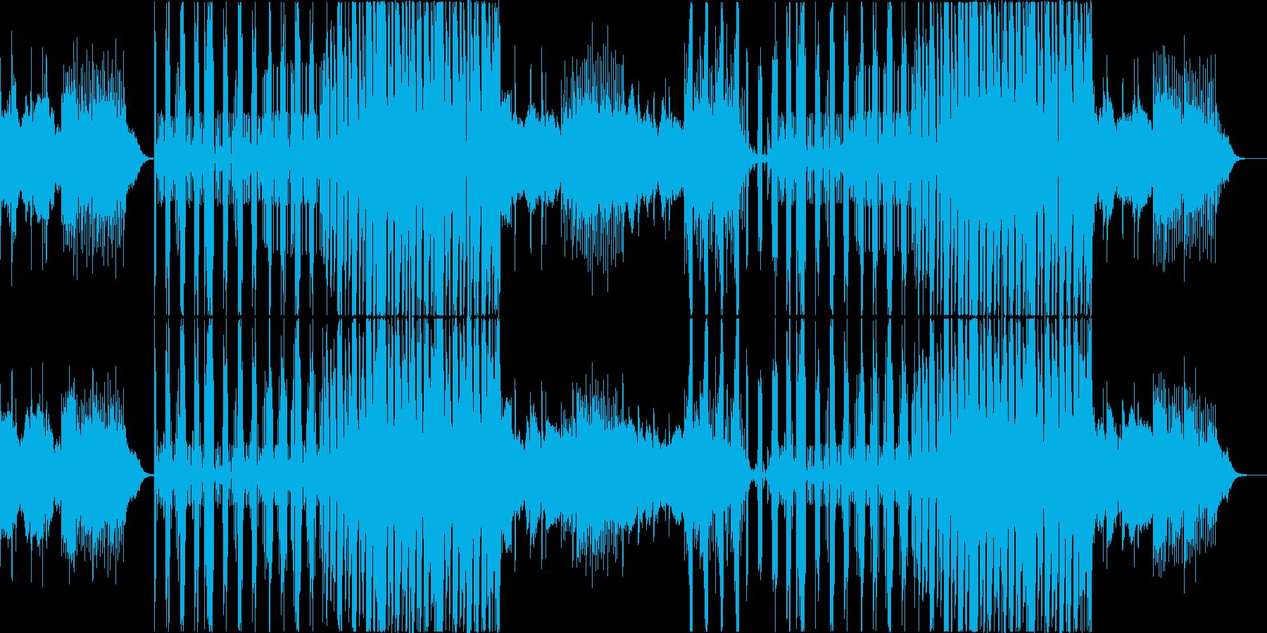 cool,不思議なEDMvocalなしの再生済みの波形