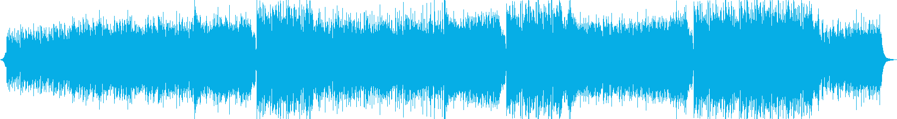 切ない・感動的・エンディング・EDMの再生済みの波形