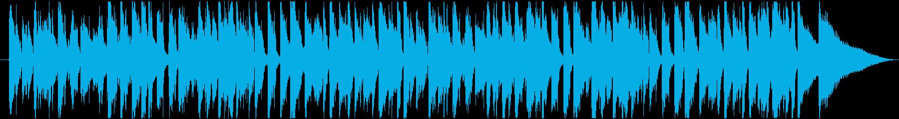 カントリー調のアコギジャズジングルの再生済みの波形