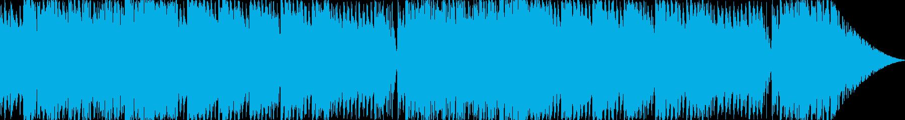 汎用性のある明るい雰囲気のBGMですの再生済みの波形
