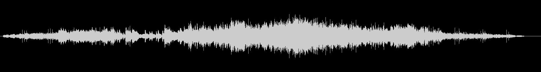 シンセの音がゆったりと響くバラードの未再生の波形