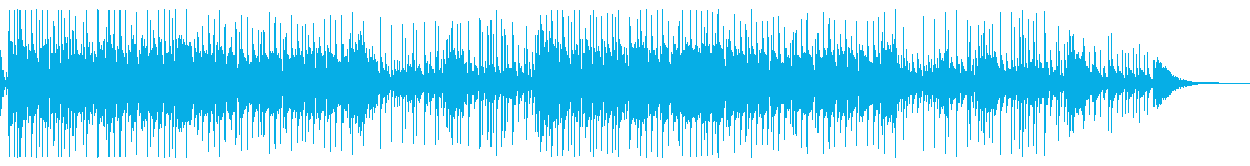 二胡の旋律が印象的なアジア風BGMの再生済みの波形