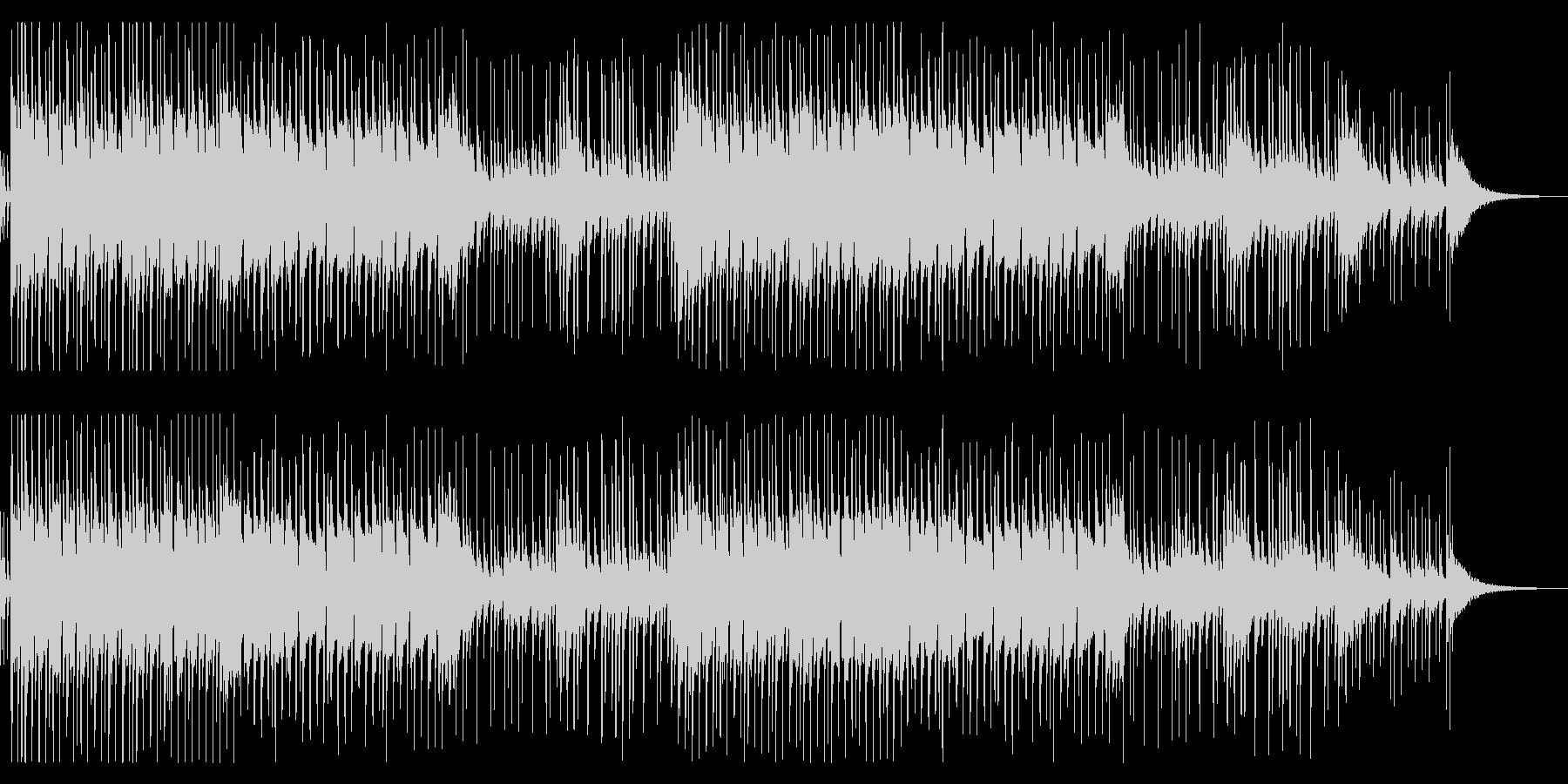 二胡の旋律が印象的なアジア風BGMの未再生の波形