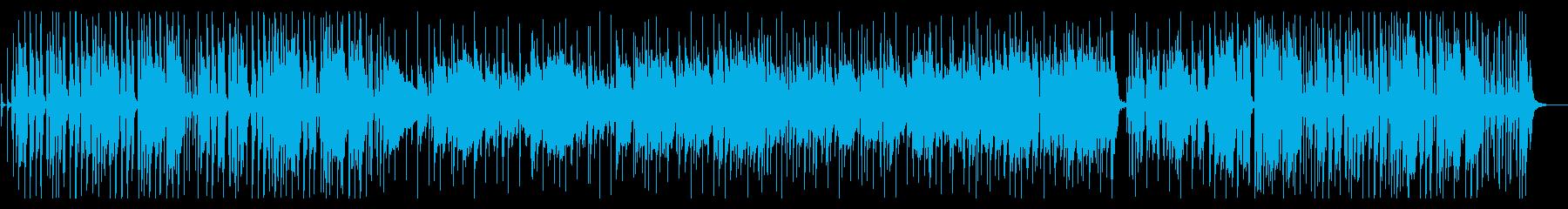 おしゃれなジャズフュージョンの再生済みの波形