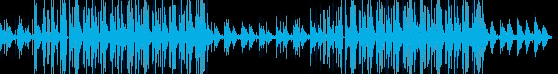 穏やかなLo-Fi HipHopの再生済みの波形