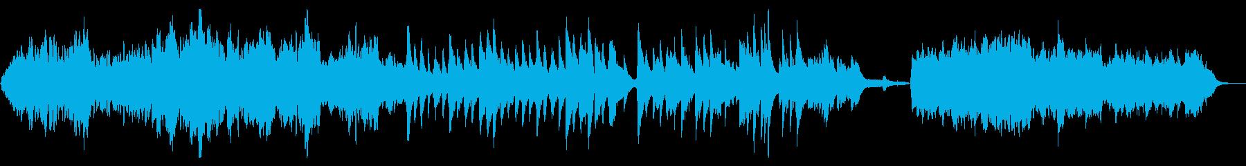 眠たくなる穏やかなノクターンの再生済みの波形