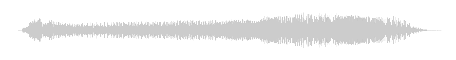 鳴き声 男性スクリーム強制ロング02の未再生の波形